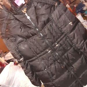 Betsey Johnson long winter coat